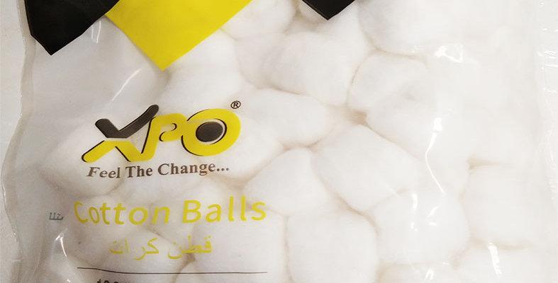 XPO COTTON BALLS 100PCS - XPO2306