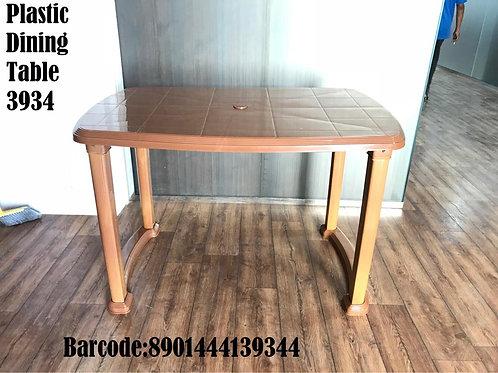 X PLAST DINING TABLE PL 3934