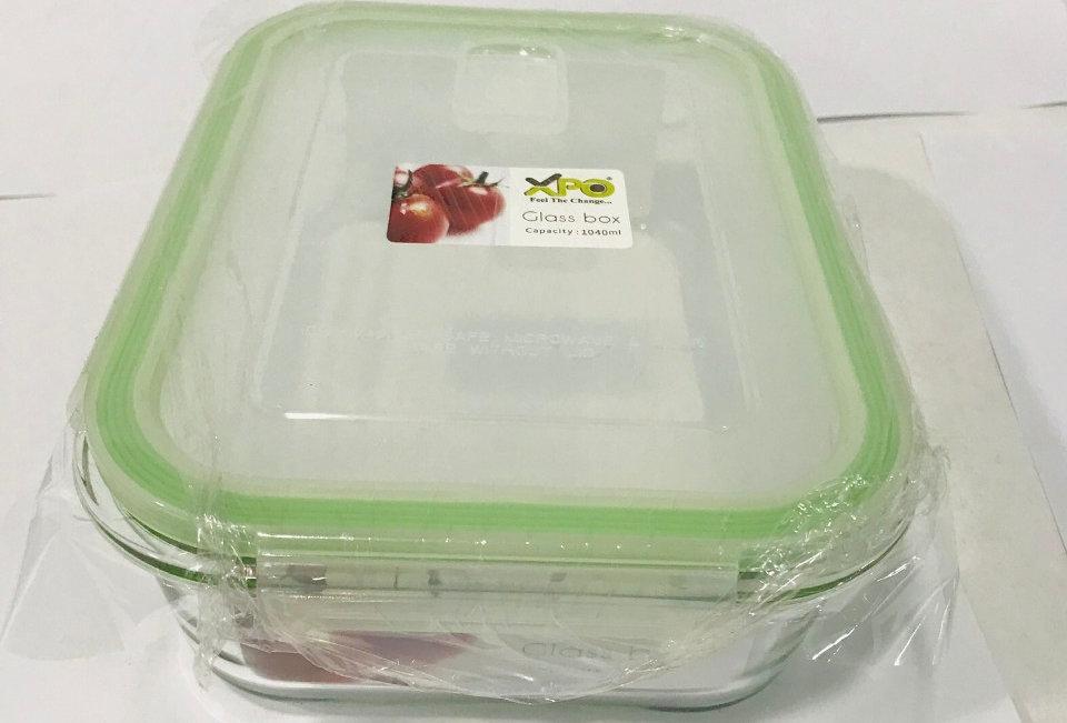 XPO GLASS BOX 1040ML 3634