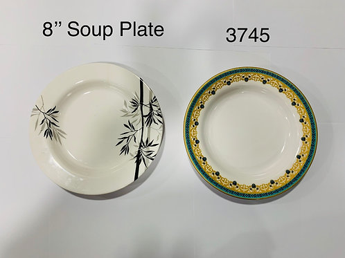 XPO 8 INCH SOUP PLATE (SO 1502) 3745