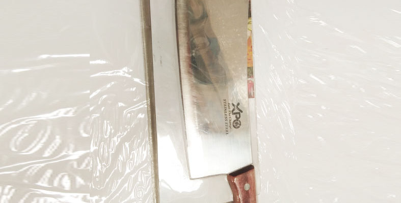 XPO KNIFE W/WOODEN HANDLE 8 inch  - 1550 - XPO1550