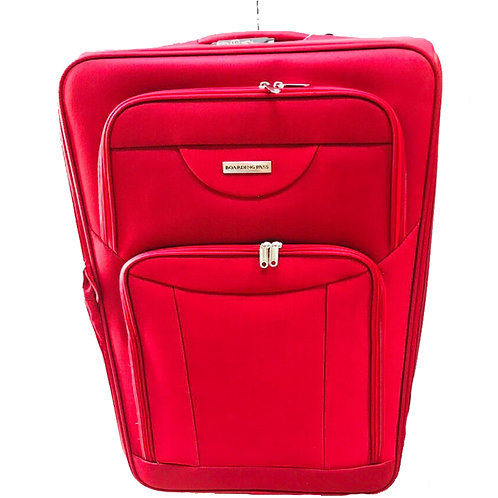 BOARDING PASS EVA TROLLEY 4PC SET 3546-RED 8221