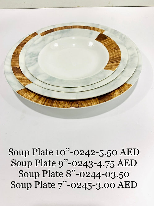 SOUP PLATE 07 inch  - 0245 - XPO0245