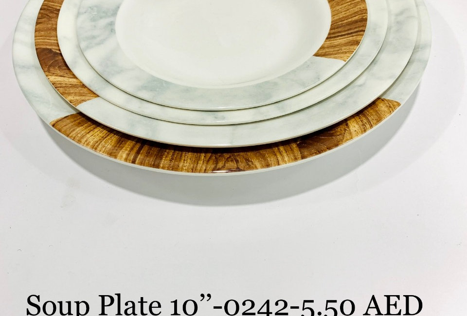 SOUP PLATE 08 inch  - 0244 - XPO0244