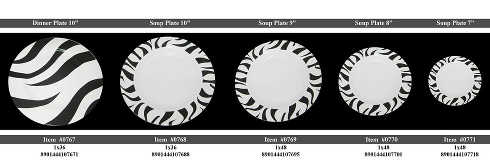 SOUP PLATE 07 inch  - 0771 - XPO0771