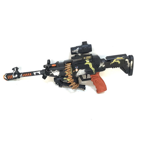 GY048937 SUBMACHINE GUN  ELECTRIC  VIBRATION WITH LIGHT DISTRIBUTION