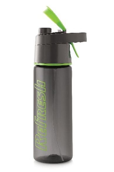 PLASTIC WATER BOTTLE REFRESH 800 ML XPO4487