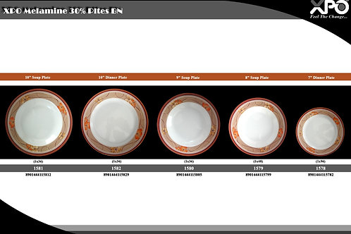 8 inch SOUP PLATE-1579 BN - XPO1579
