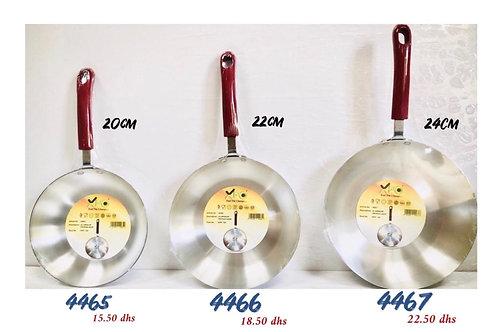 XPO ALUMINIUM FRYPAN BKT HANDLE 22 CM XPO4466
