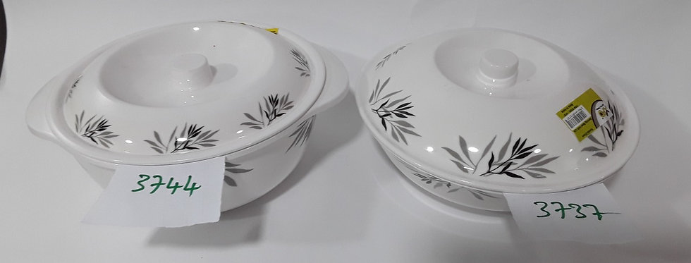XPO RONDA 21CM SERVING BOWL WITH LID (RD 0113) 3737