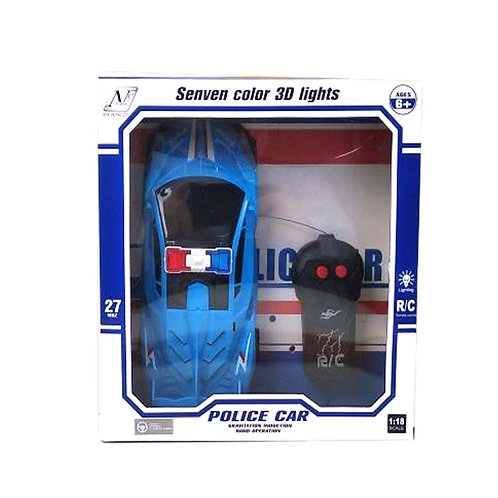 GY049353 1:18 3D LIGHT REMOTE CONTROL SECOND TRAIN(US)