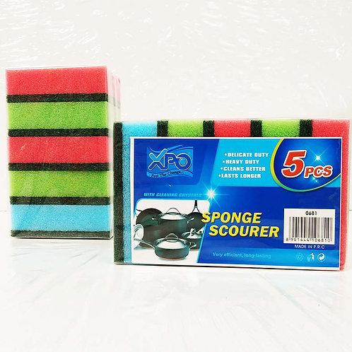 XPO COLOR SPONGE 5PCS - XPO0681