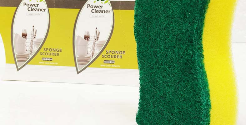 XPO 3 PCS SHAPED SPONGE SCOURER - XPO3147