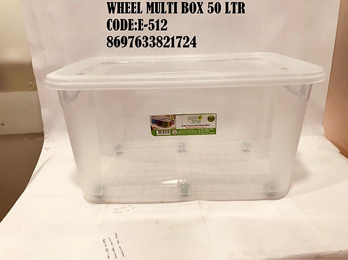 MULTI BOX 50 LTR WITH WHEEL E512