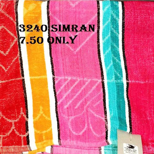 TOWEL DREAMZ 70X140CM 3240 SIMRAN