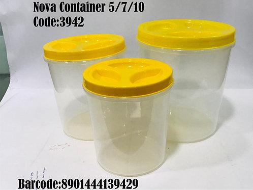 X PLAST NOVA CONTAINER SET 5 7 10 3942