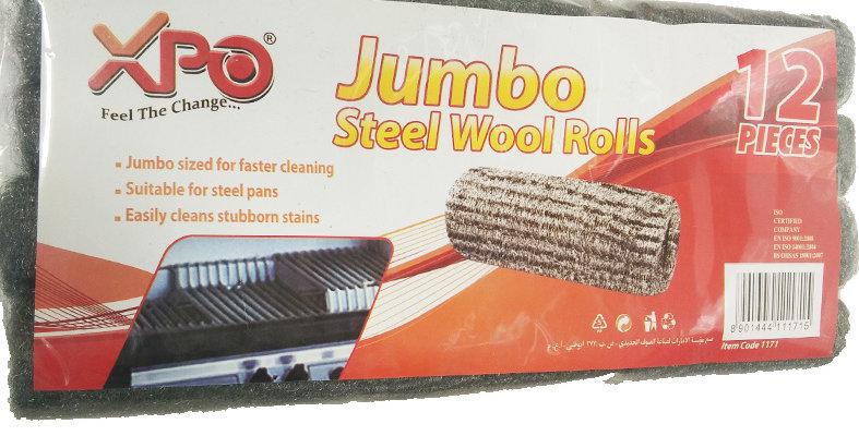 XPO PR12 JUMBO STEEL WOOL ROLLS - XPO1171