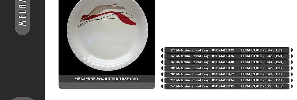 22 inch  ROUND TRAY - 1347 - RN - XPO1347