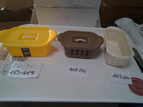 PLASTIC JOLLY BASKET W/LID - 11 - XPOPC253-PC2