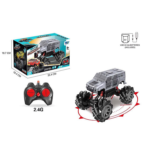 GY049399 1:16 REMOTE  CLIMBING CAR  2.4G