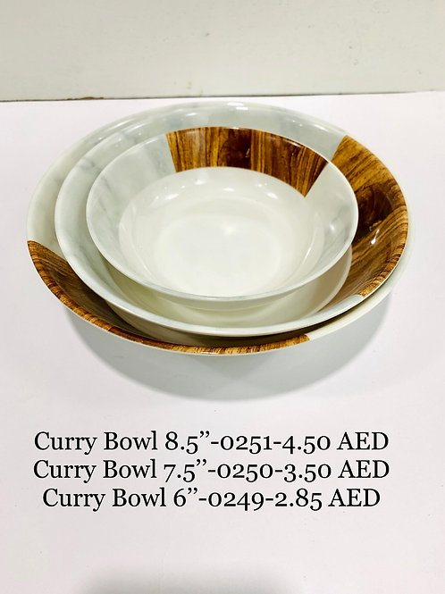 MELAMINE CURRY BOWL 6 INCH - 0249 - XPO0249