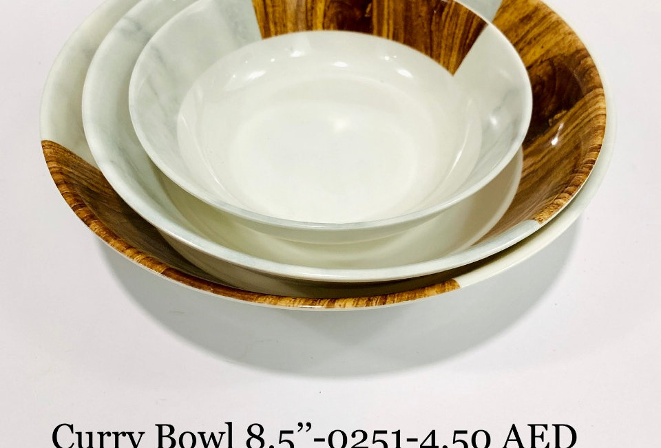 CURRY BOWL 8.5 inch  - 0251 - XPO0251