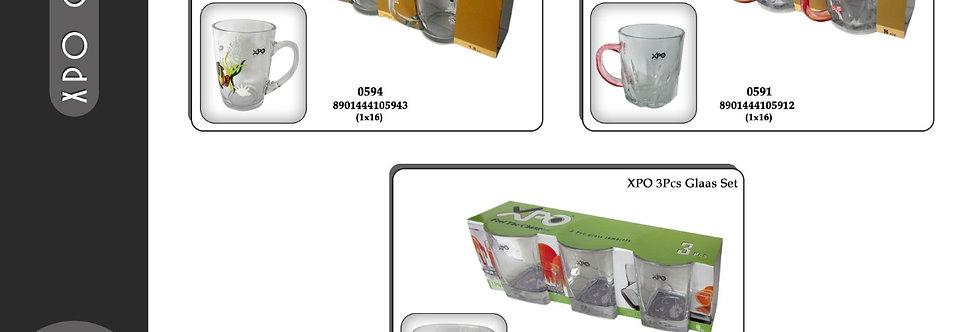 XPO 3PCE CAFE MUG - 0591 - XPO0591