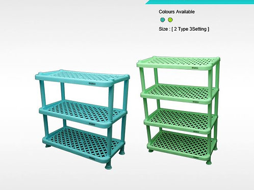 SHOE RACK (SIMPLAST) 4 TIRE - XPO1148