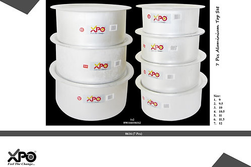 TOPE SET 9 TO 12(7PCS) 0616 - XPO0616