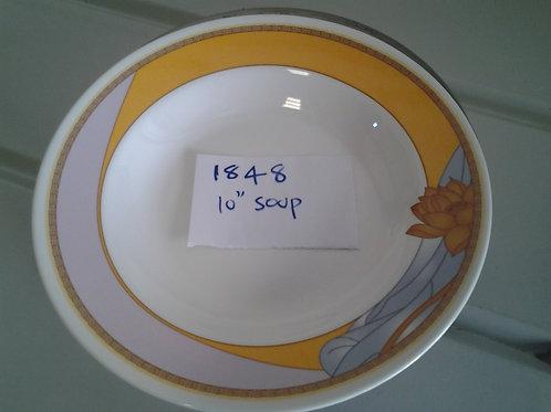 10 inch  SOUP PLATE - 1848 - YN - XPO1848