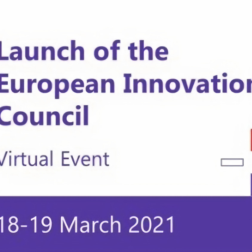Launch of the new European Innovation Council