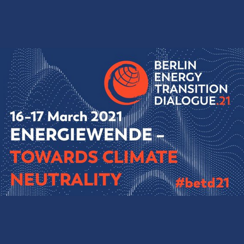 Berlin Energy Transition Dialogue 2021