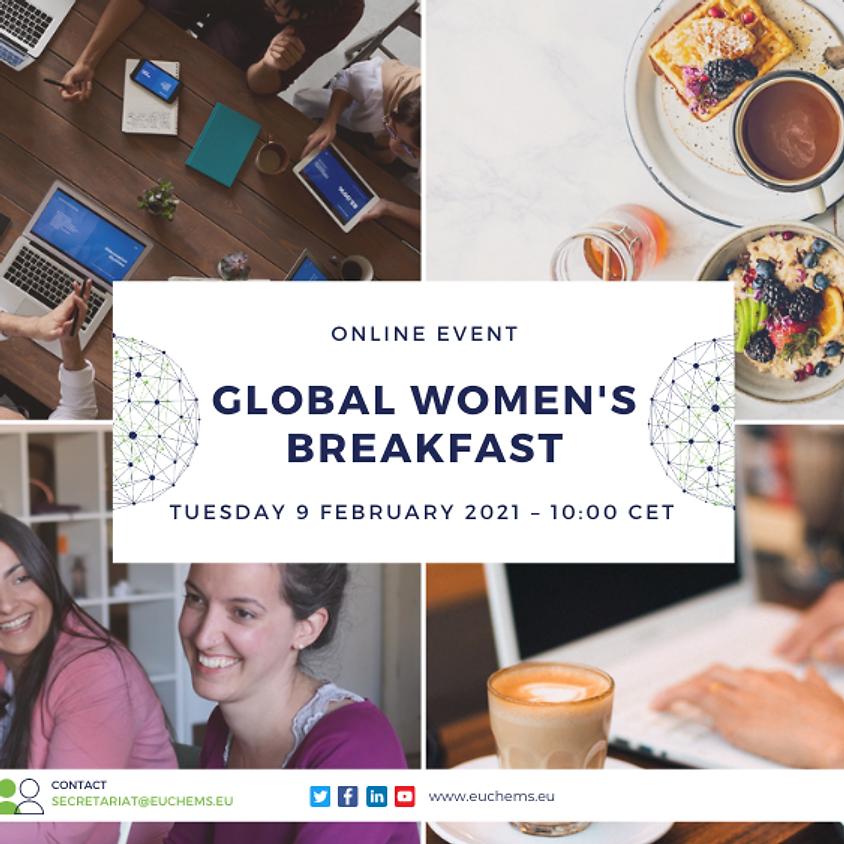 EuChemS @ Global Women's Breakfast