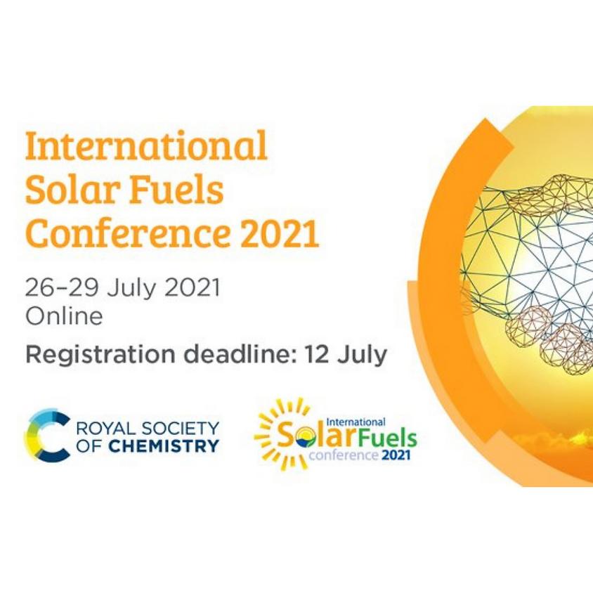 International Solar Fuels Conference 2021