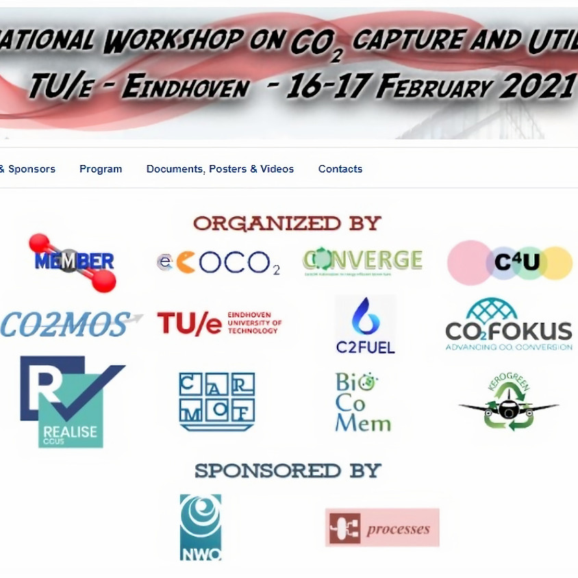 IWCCU: International Workshop on CO2 capture and Utilization