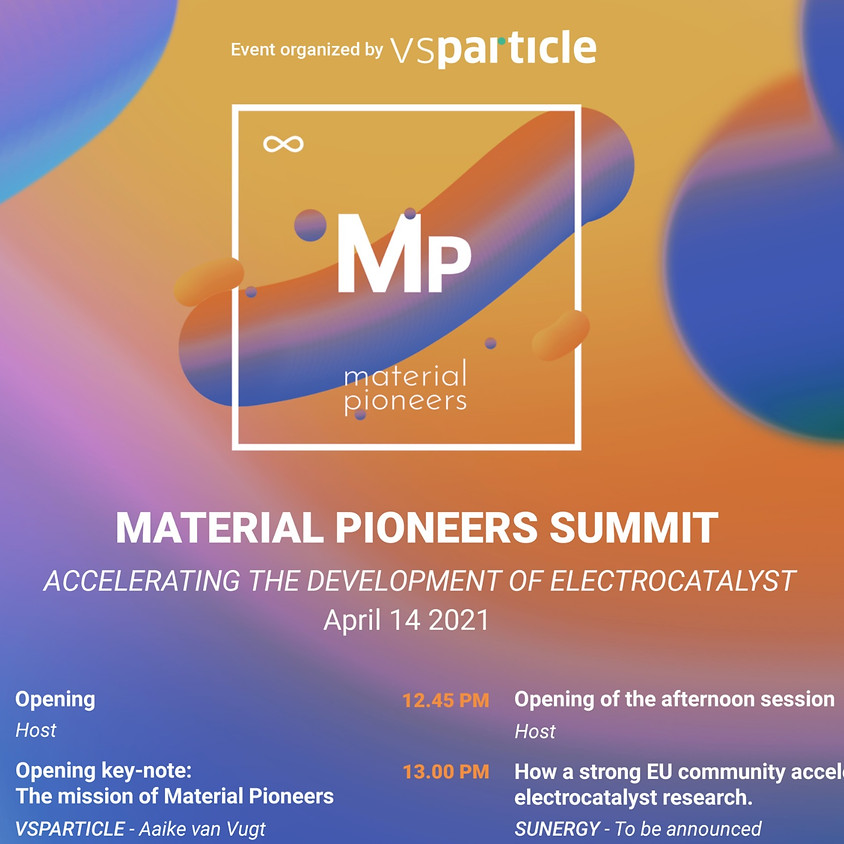 Material Pioneers Summit: Accelerating the Development of Electrocatalyst