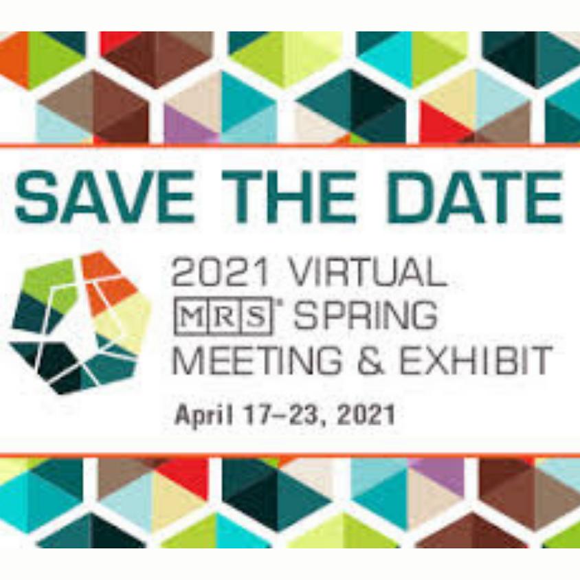 2021 MRS Spring Meeting & Exhibit