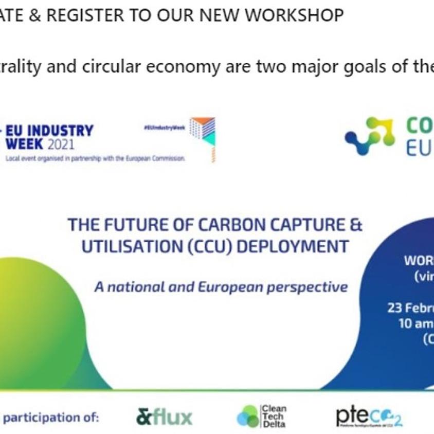 The future of Carbon Capture & Utilisation Deployment