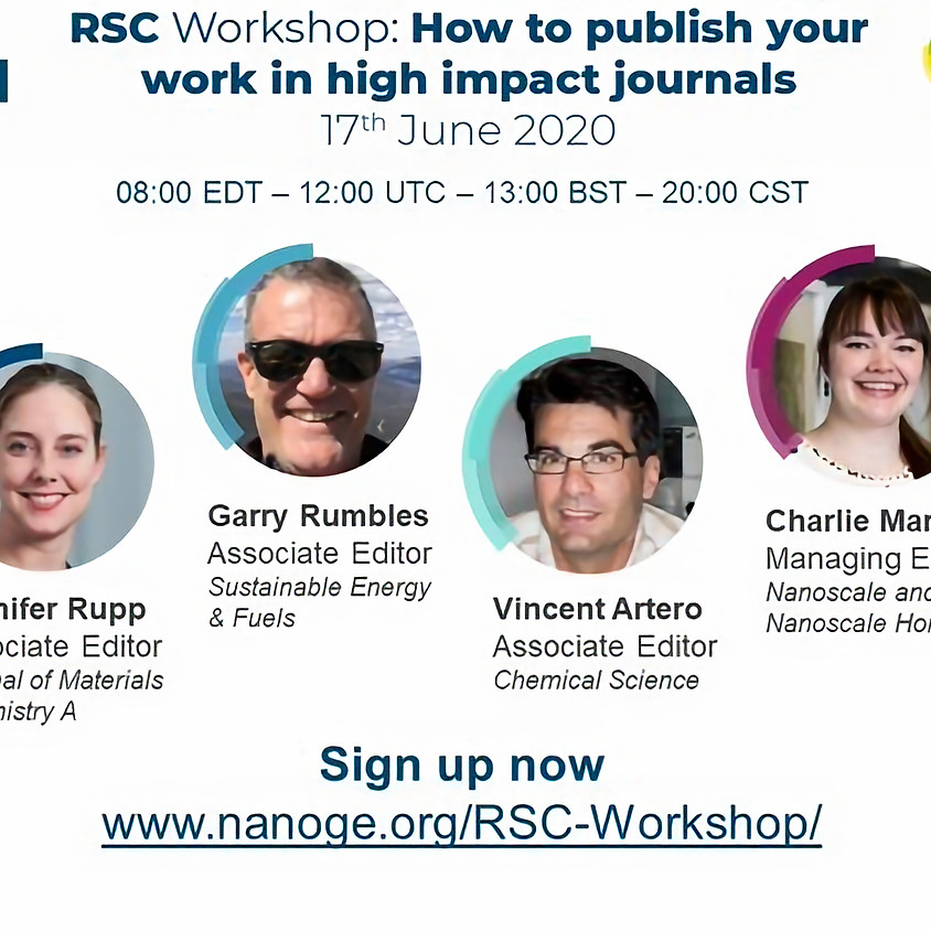 How to publish your work in high impact journals