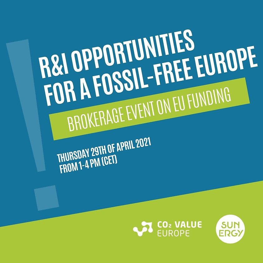 R&I Opportunities for a Fossil-Free Europe