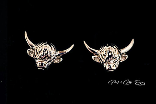 Highland Coo Earrings