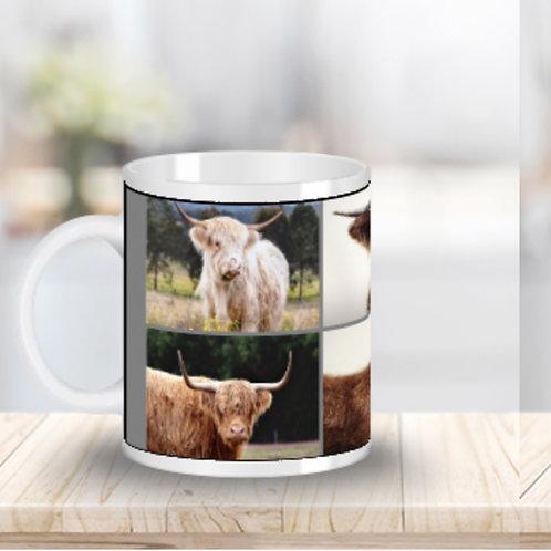 6 Cow Mug - Duncan, Bruce, Caroline, Achlias, Calf & Daisy