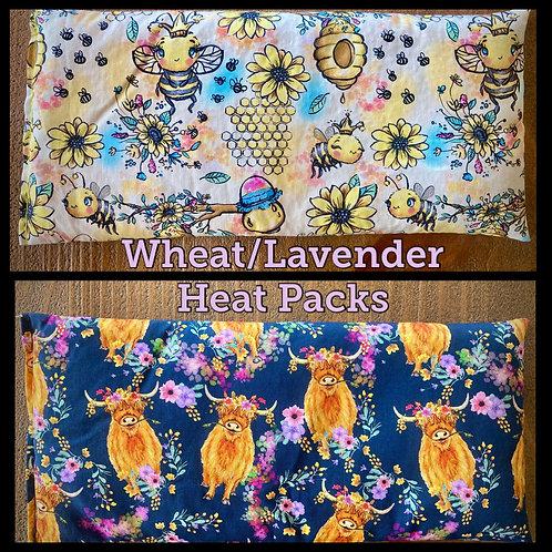 Wheat/Lavender Heat Packs