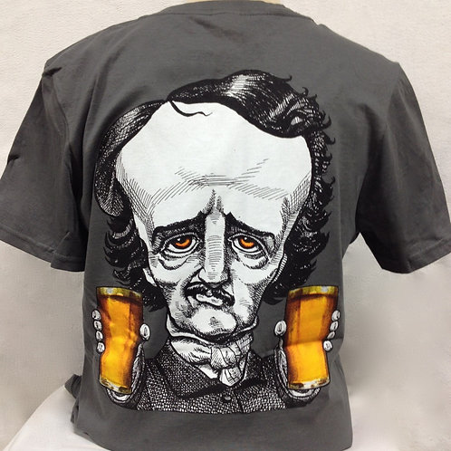Two Fisted Poe T-shirt