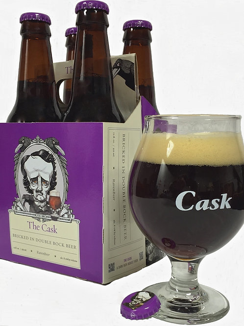 Snifter for The Cask Double Bock, set of 2