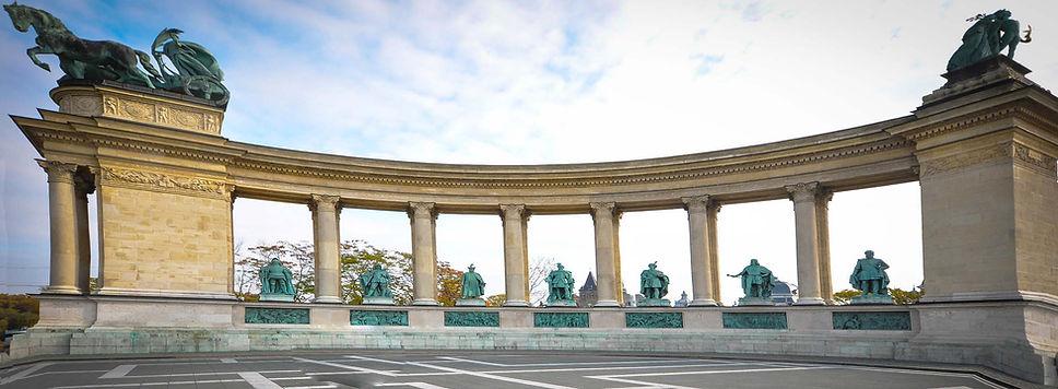 Hösök tere, Budapest(T.L.)