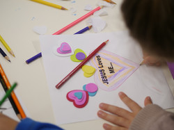 Kids Colouring Heart
