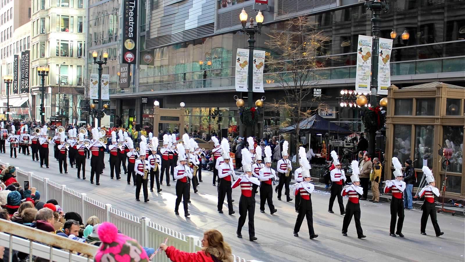 CCHS Band chicago