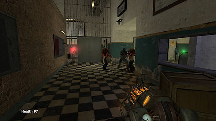The player can use zombies to defeat the Combine.