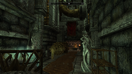 The final door that the player needs to open.